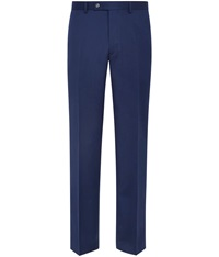 Austin Reed Slim Fit Blue Twill Trousers