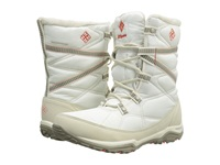 Columbia Minx Fire Tall Omni Heat Waterproof Sea Salt Corange Women's Cold Weather Boots White