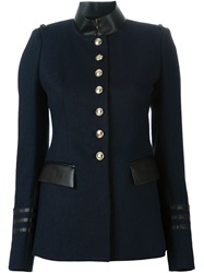 Altuzarra Military Style Jacket Blue