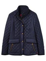Joules Newdale Classic Quilted Jacket Marine Nay