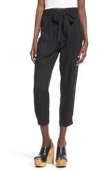 Women's Leith Belted High Rise Crop Pants