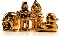 Seletti Limited Gold Edition Porcelain