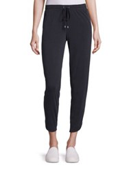 Splendid Cropped Jogger Pants Black