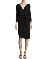 Diane Von Furstenberg New Julian Two Matte Jersey Wrap Dress