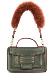 Pierre Hardy 'Alpha Plus' Shoulder Bag Green
