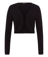 Olsen Short Cardigan Black
