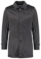 Selected Homme Shtribeca Trenchcoat Black