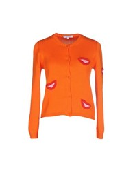 Vivetta Knitwear Cardigans Women Orange