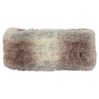 Barts Faux Fur Headband One Size Brown