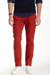 Jack Spade Brantley 5 Pocket Canvas Pant Red