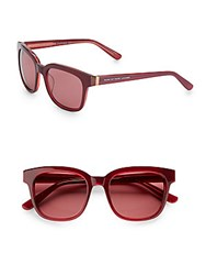 Marc By Marc Jacobs 51Mm Square Wayfarer Sunglasses Red