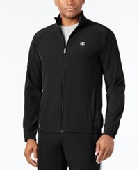 Champion Men's Woven Track Jacket Black