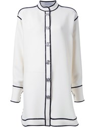 J.W.Anderson J.W. Anderson Large Buttons Fastening Shirt Dress White