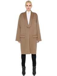 Givenchy Oversized Cashmere And Wool Coat