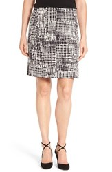 Nic Zoe Women's 'Brushstroke' Jacquard Pencil Skirt