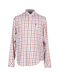 Timberland Shirts Shirts Men Orange