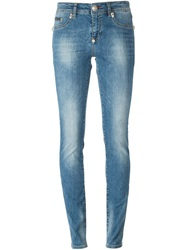 Philipp Plein 'Super Sexy Take Me' Jeans Blue