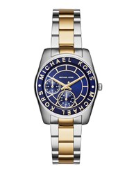 Michael Kors Timepieces Wrist Watches Women Dark Blue