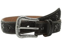 Ariat Tooled Tab Studded Belt Little Kids Big Kids Brown Men's Belts
