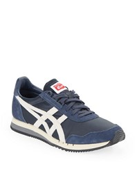 Asics Dualio Lace Up Sneakers Indian Ink