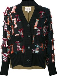 Sea 'Confetti' Cardigan Black