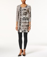 Styleandco. Style And Co. Animal Print Shift Dress Only At Macy's Animal Opulence