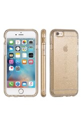 Speck 'Candyshell' Iphone 6 And 6S Case Metallic Clear Gold Glitter
