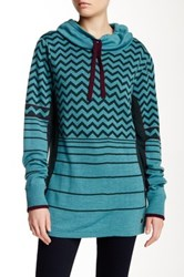 Smartwool Optic Patterned Wool Blend Sweater