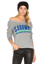 Junk Food Seahawks Sweatshirt Gray