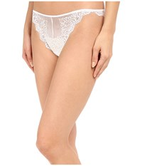 Only Hearts Club So Fine Lace Thong White Women's Underwear