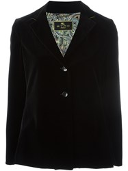 Etro Two Button Blazer Black