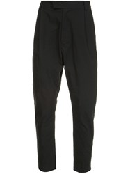 Robert Geller 'The Massimo' Tapered Trousers Black
