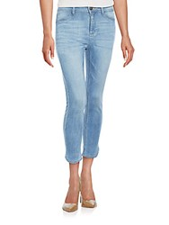 Dl Premium Denim Bardot High Rise Cropped Jeans Eyre