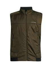 Falke Lightweight Quilted Performance Gilet Khaki