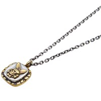 Fuct Ssdd Death Bunny Necklace Gold