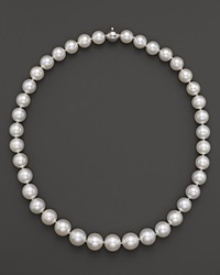 Tara Pearls White South Sea Cultured Pearl Strand Necklace 17
