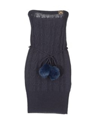 Atelier Fixdesign Short Dresses Dark Blue