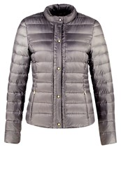 Esprit Collection Down Jacket Light Gunmetal Taupe