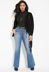 Forever 21 Plus Size Flared Jeans Denim