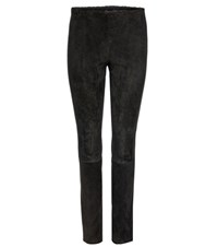 Stouls Mickael Suede Leggings Black