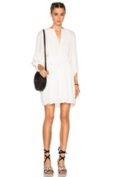 Apiece Apart Puebla Mini Dress In White