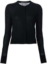 Jason Wu Sheer Back Sweater Black