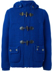Bark Duffle Jacket Blue