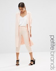 Vero Moda Petite Soft Peg Trousers Pale Blush Pink