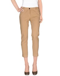Guardaroba By Aniye By Trousers Casual Trousers Women Camel