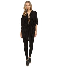 Limi Feu Gathered Blouse Black Women's Blouse