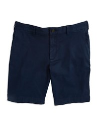 Black Brown Corduroy Shorts Bright Navy