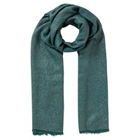 East Metallic Scarf Teal