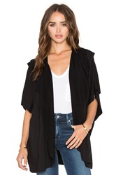 Beautiful People Draped Cardigan Black
