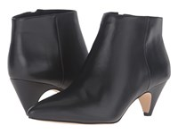 Sam Edelman Lucy Ankle Boot Black Modena Calf Leather Women's Dress Boots